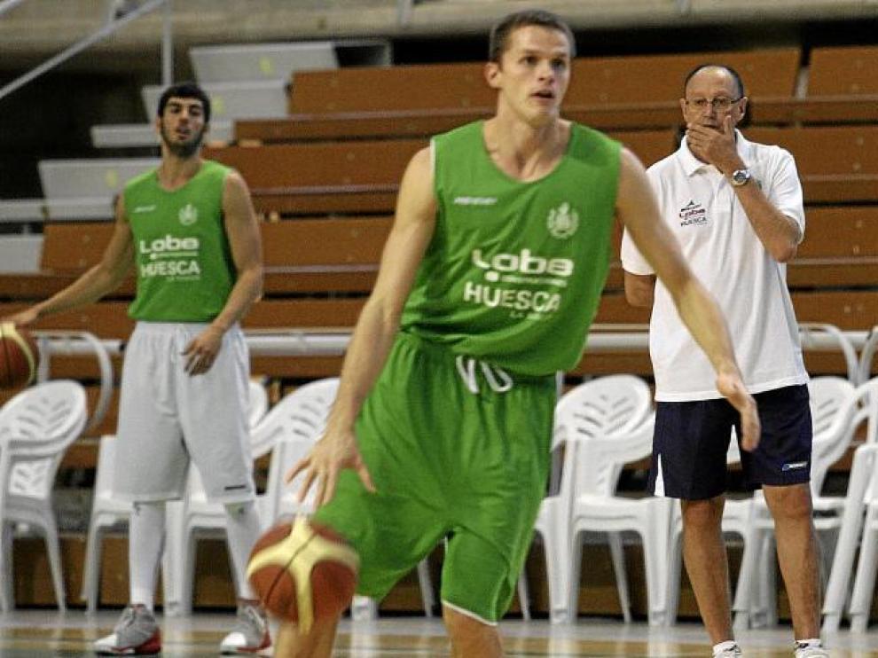 Leonavicius, uno de los jugadores más regulares en este inicio de temporada.
