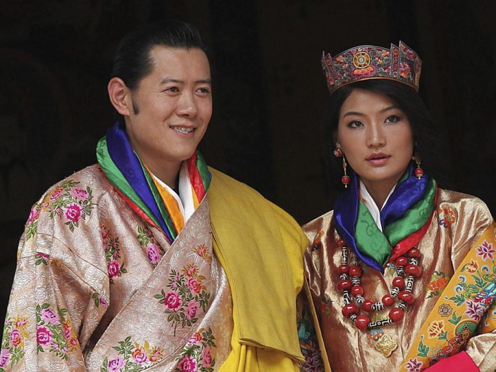 La ceremonia ha sido espectacular, la población ha vestido sus trajes tradicionales