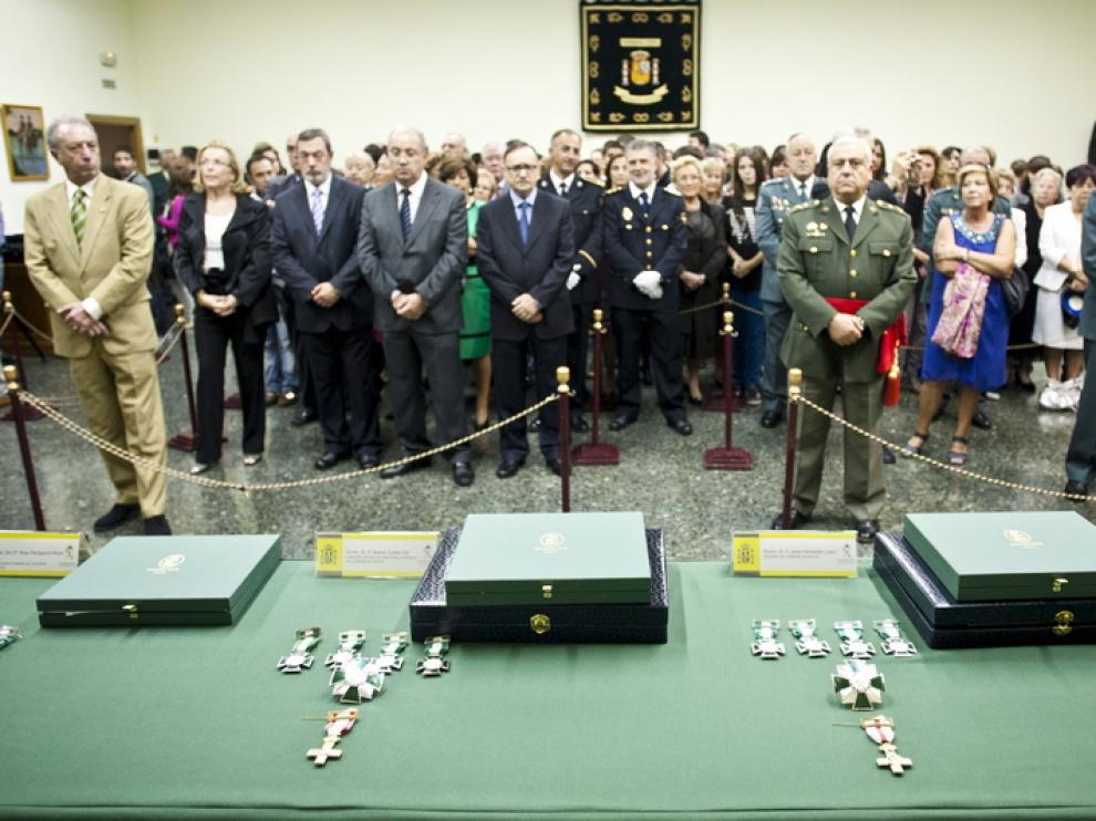 Acto de celebración de la festividad de la Guardia Civil