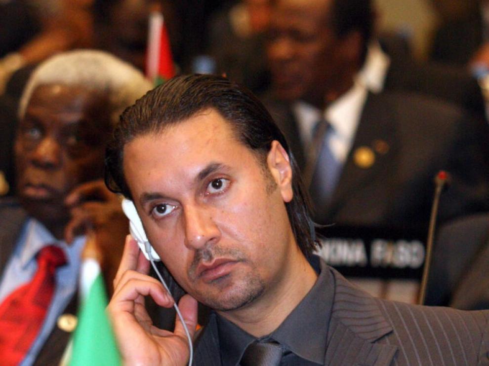 Moatassam Gadafi, quinto hijo del antiguo líder libio Muamar el Gadafi