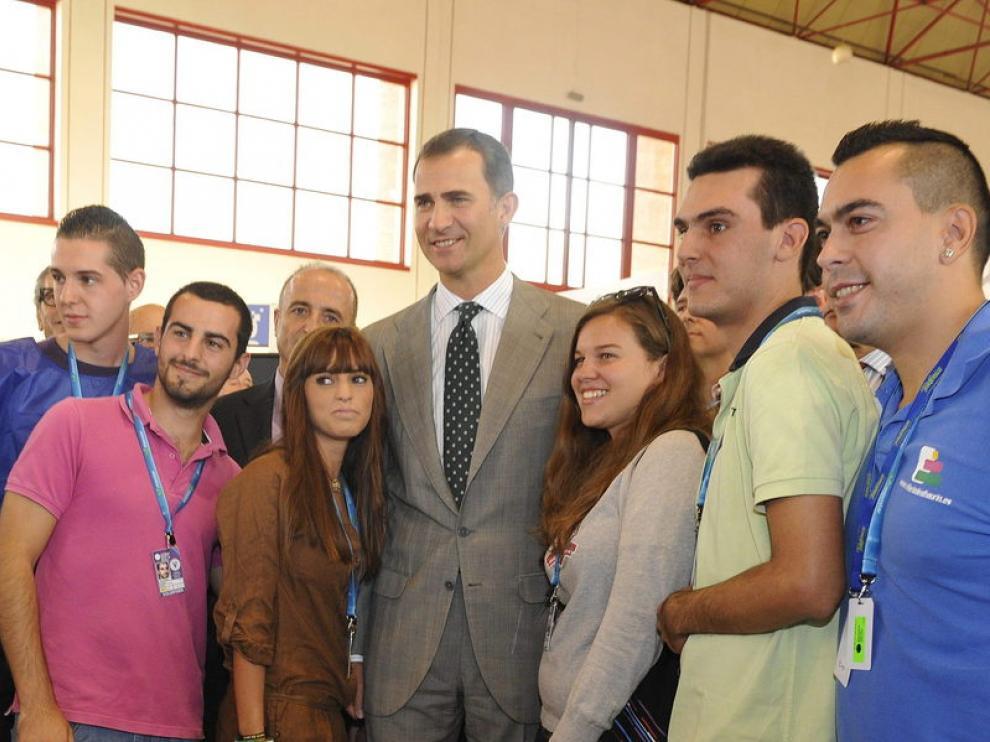 El Príncipe Felipe en Granada
