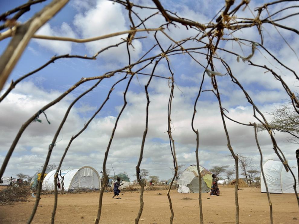 Campo de refugiados de Dadaab en Kenia