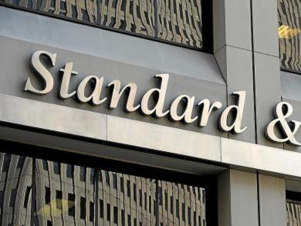 Fachada de la sede de la agencia Standard & Poor's (S&P) en Nueva York.