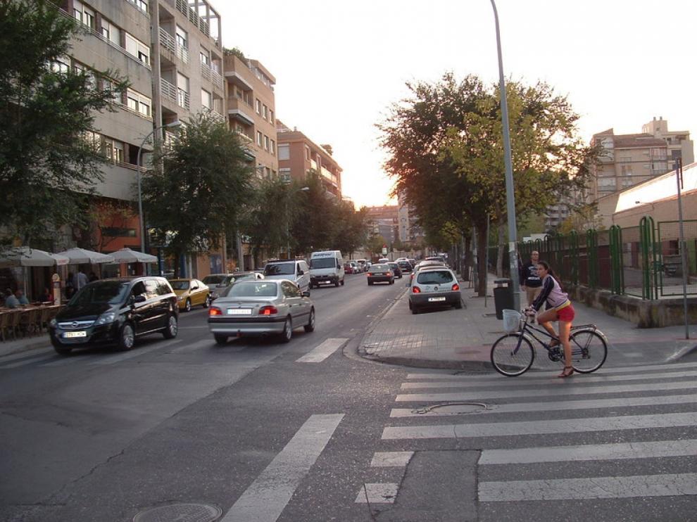Cruce en el barrio de San Lorenzo