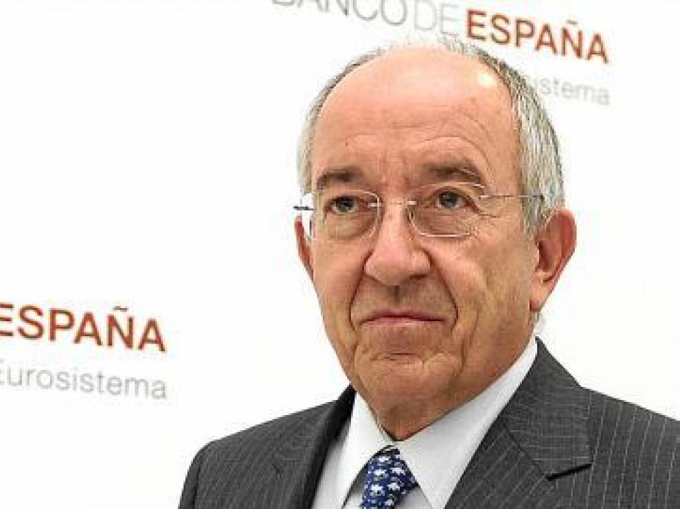 El gobernador del Banco de España, Miguel Á. Fernández Ordóñez.
