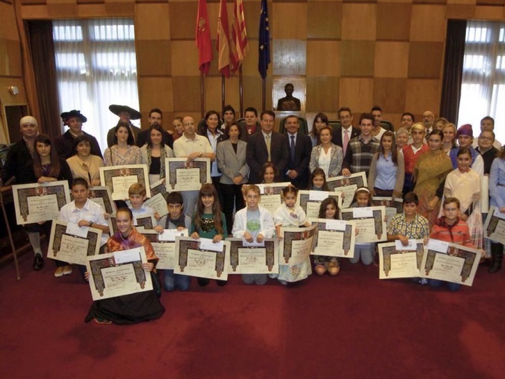 Premiados de las fiestas del Pilar 2011