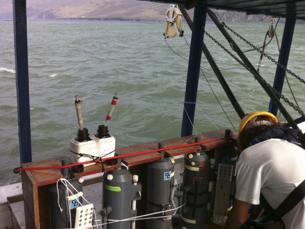 Imagen del buque 'Profesor Ignacio Lozano'