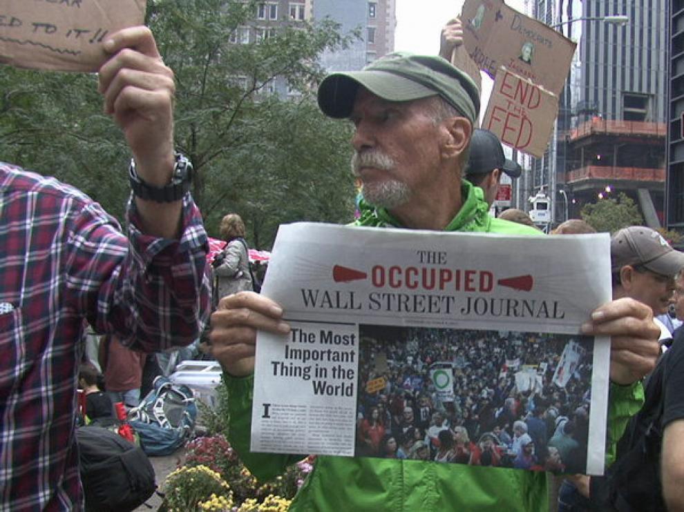 Los 'indignados' neoyorquinos