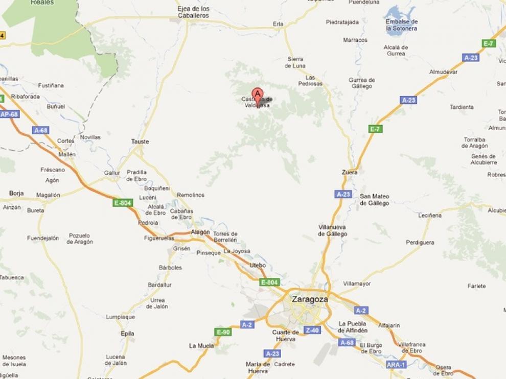Castejón de Valdejasa está a unos 20 kilómetros de Zaragoza