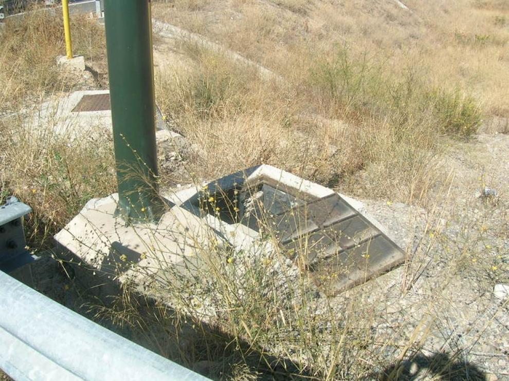 Inmediaciones del acceso a Santa Isabel