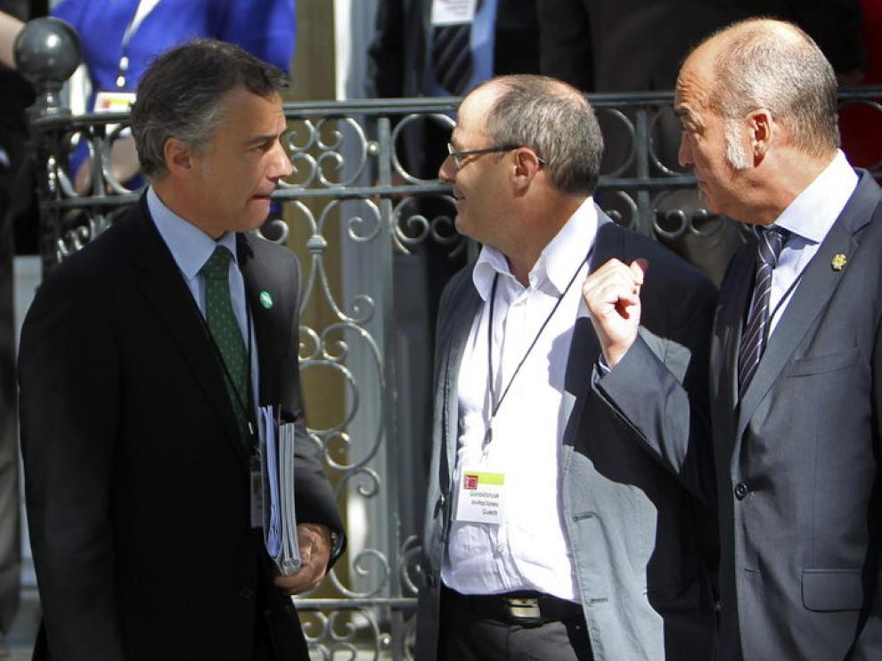 Iñigo Urkullo, en la Conferencia de San Sebastián