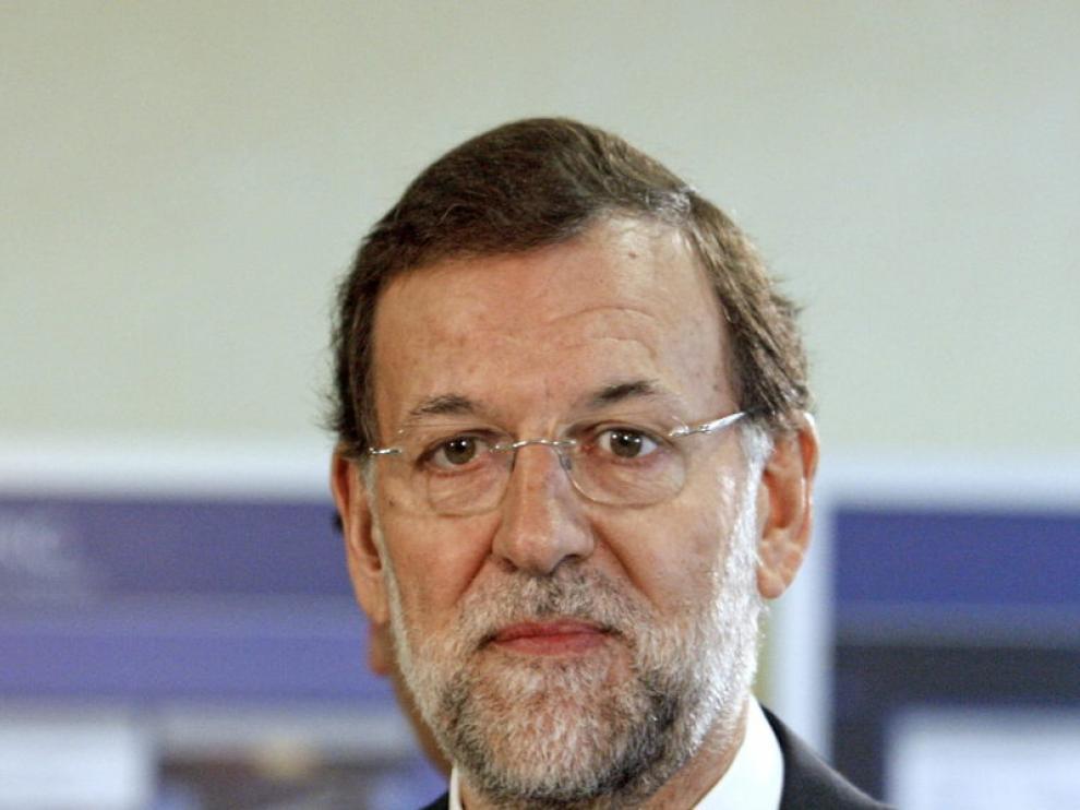 Mariano Rajoy en Abadiño