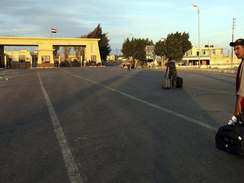 Punto fronterizo de Rafha