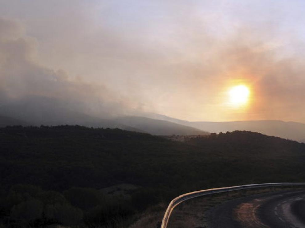 Incendio en Molinaferrera