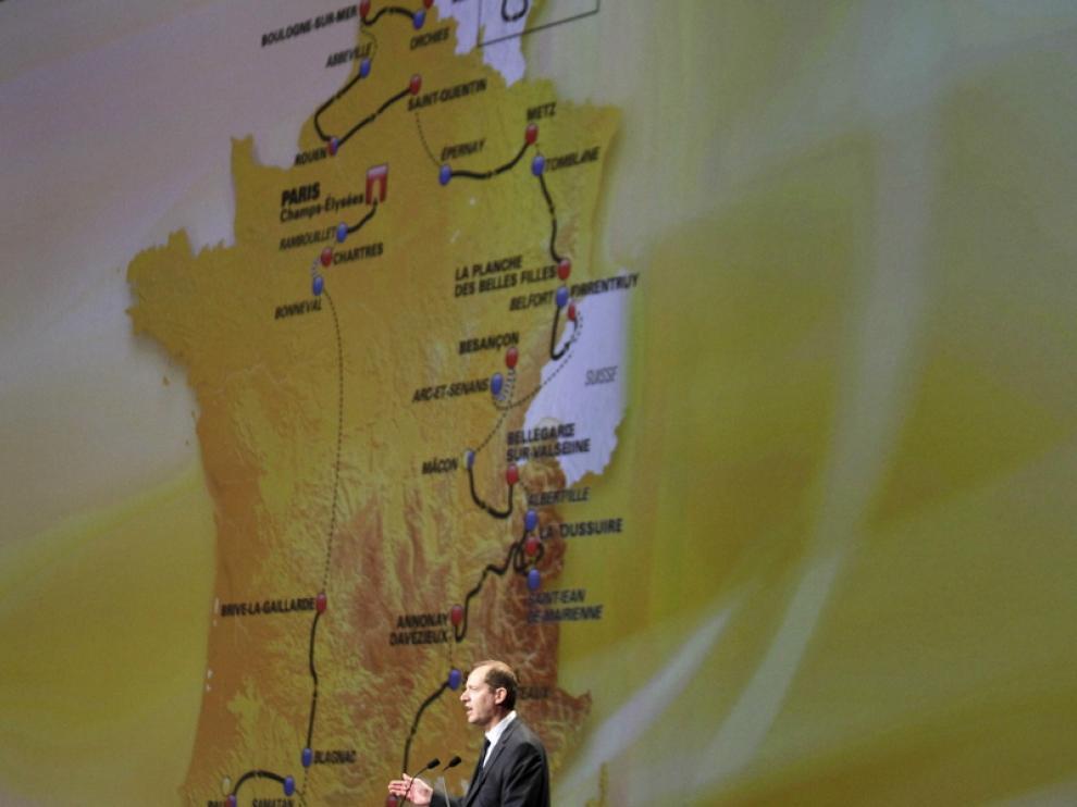 Presentación del recorrido del Tour 2012