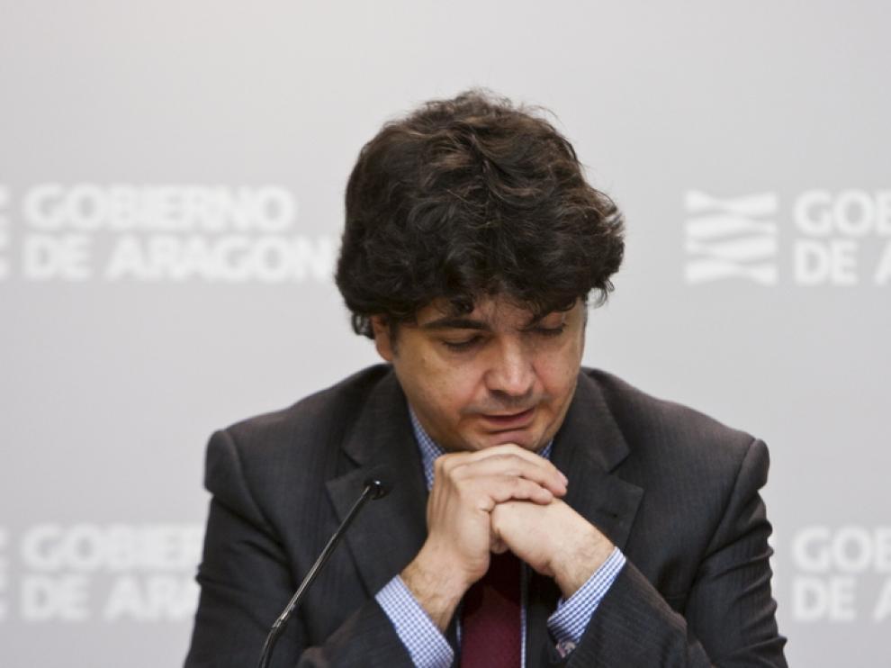 El consejero de Hacienda, Mario Garcés