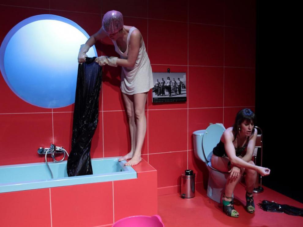 Imagen de 'Pánico', que se representa en el Teatro Arbolé