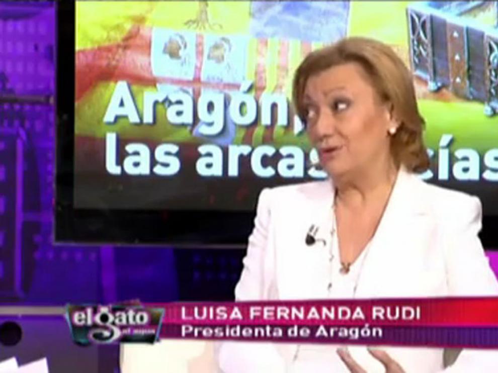 Luisa Fernanda Rudi en 'El gato al agua'