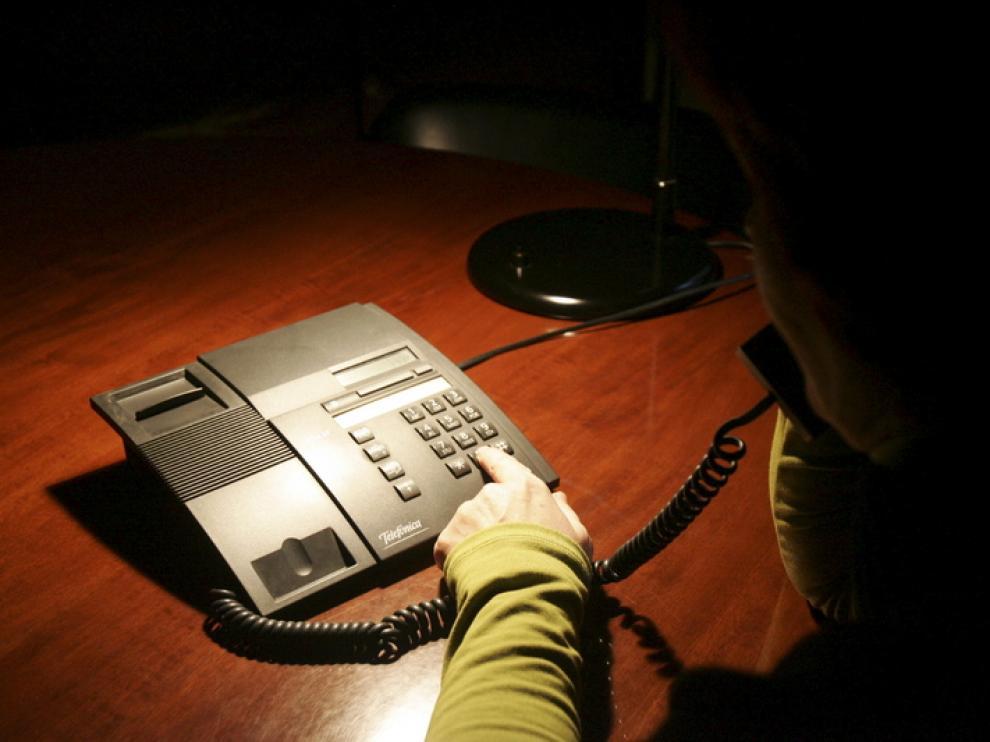 El número de mujeres con un dispositivo de alarma ha aumentado este año en Aragón