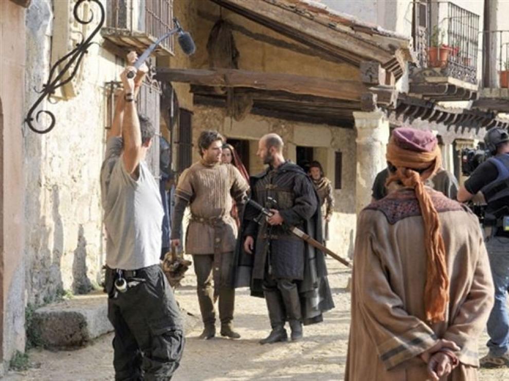 Una escena del rodaje de Toledo