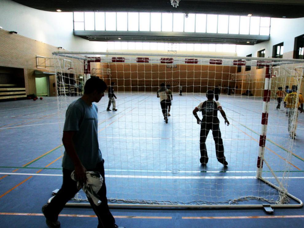 Polideportivo de Ciencias de la Actividad Física y del Deporte.