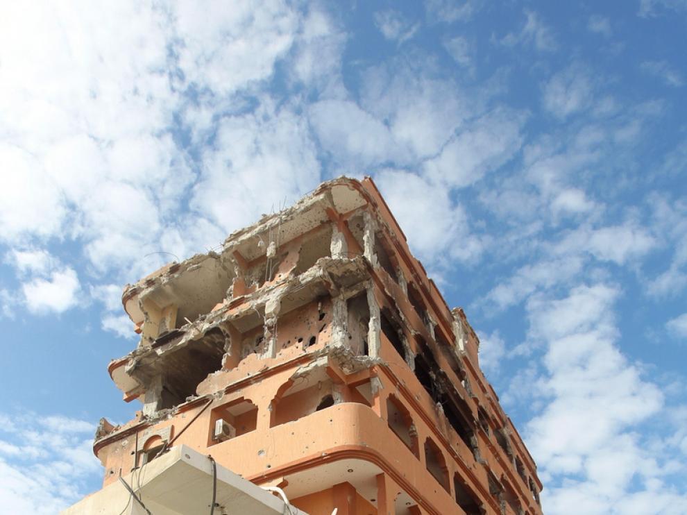 Rebeldes libios, hoy en Sirte