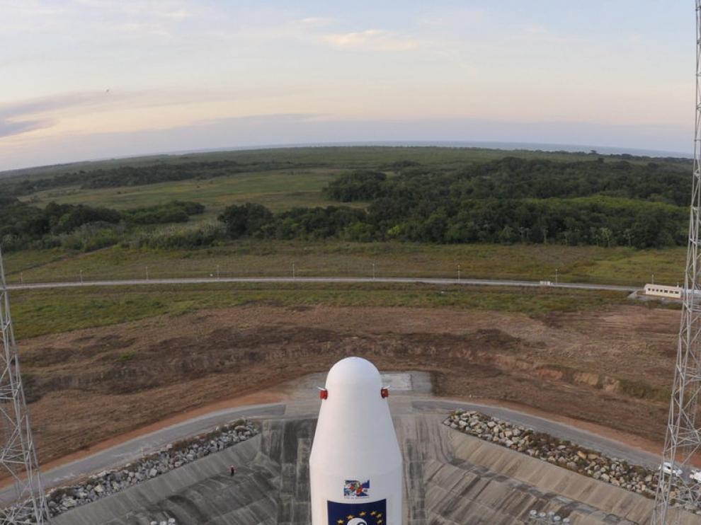 Imagen del cohete Soyuz
