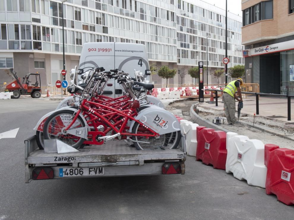Bicicletas dañadas