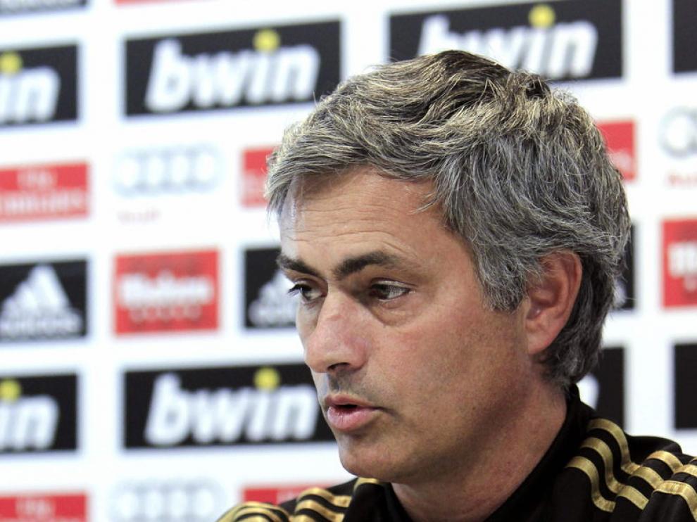 Mourinho, en rueda de prensa