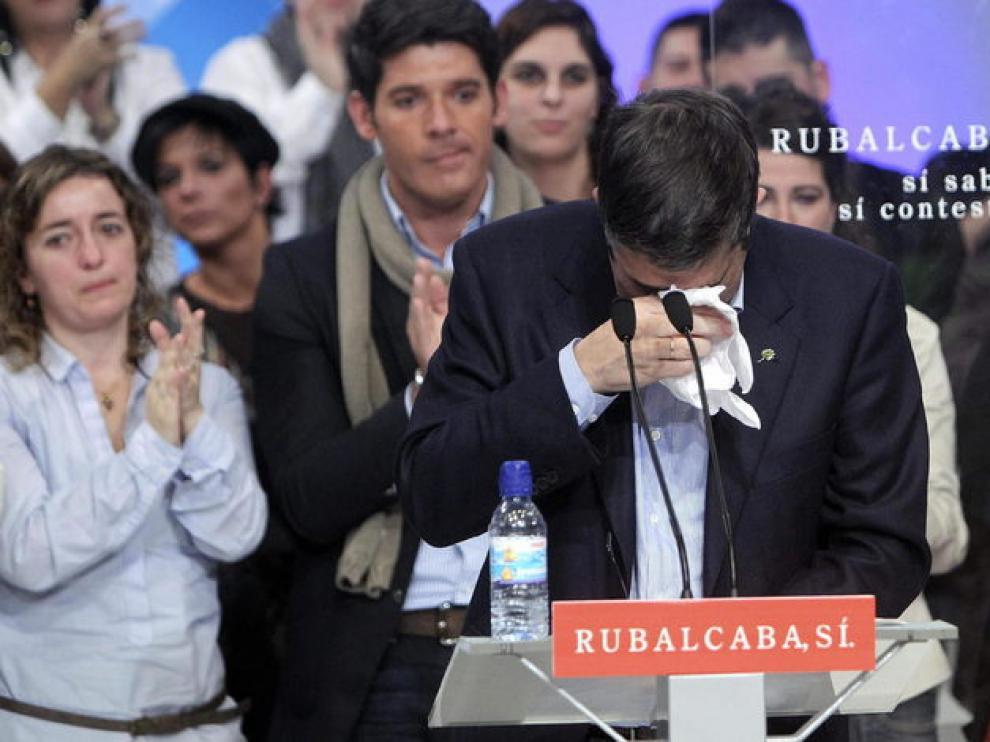 López, emocionado en San Sebastián