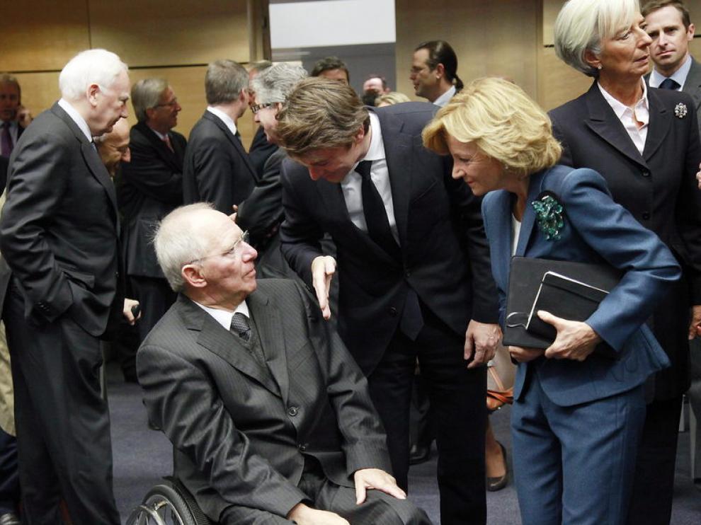Los ministros de Finanzas de la UE se reunieron este sábado en Bruselas
