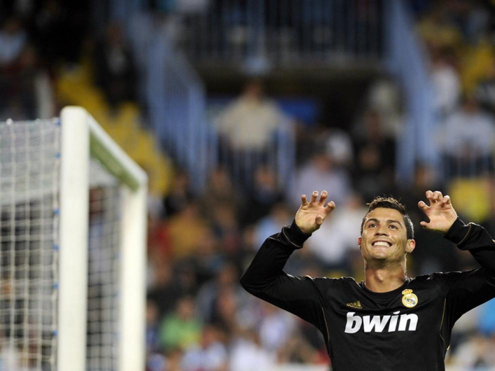 Ronaldo celebra uno de sus tantos