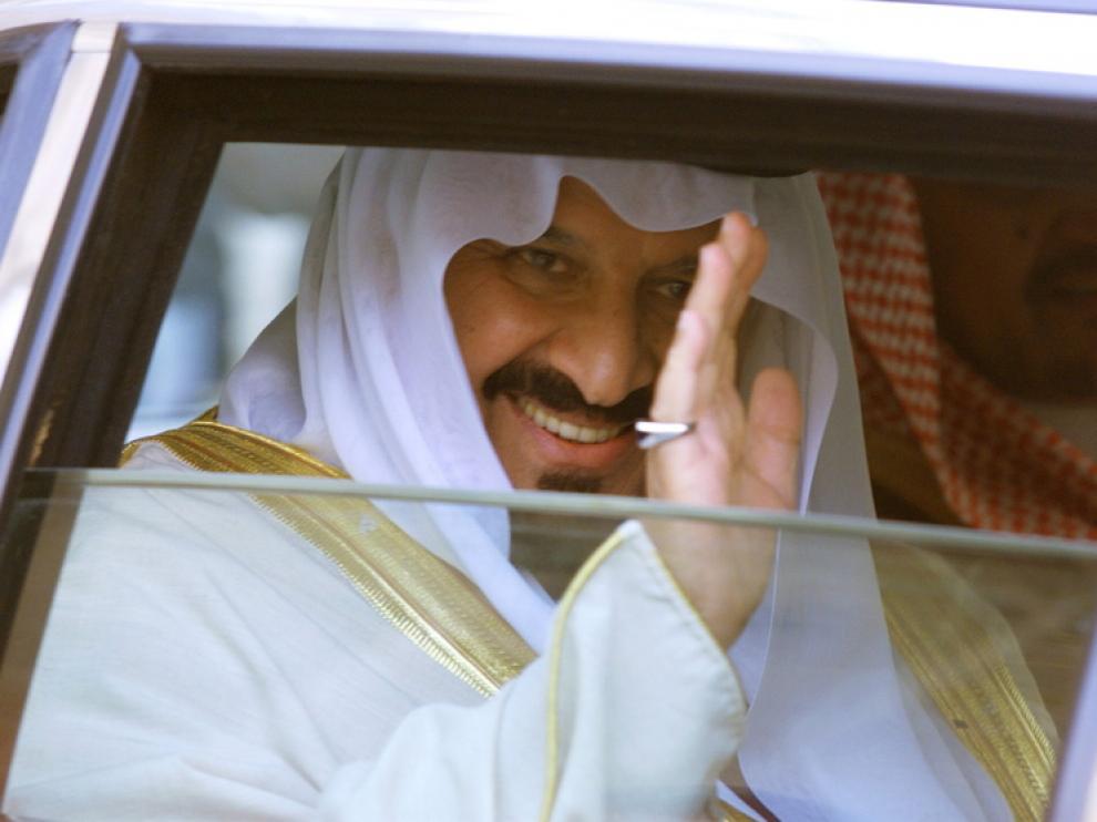 El príncipe heredero saudí Sultan bin Abdulaziz