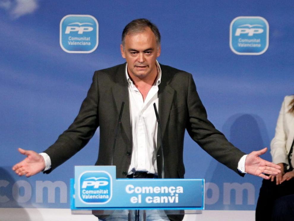 El vicesecretario de Comunicación del PP, Esteban González Pons
