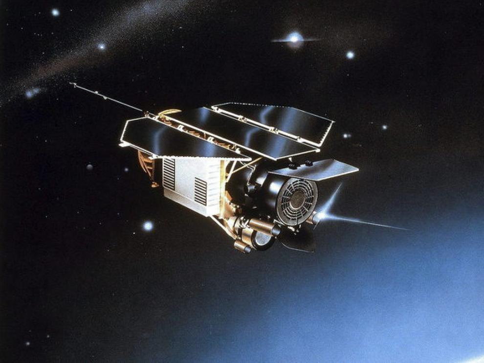 Imagen del satélite alemán Rosat