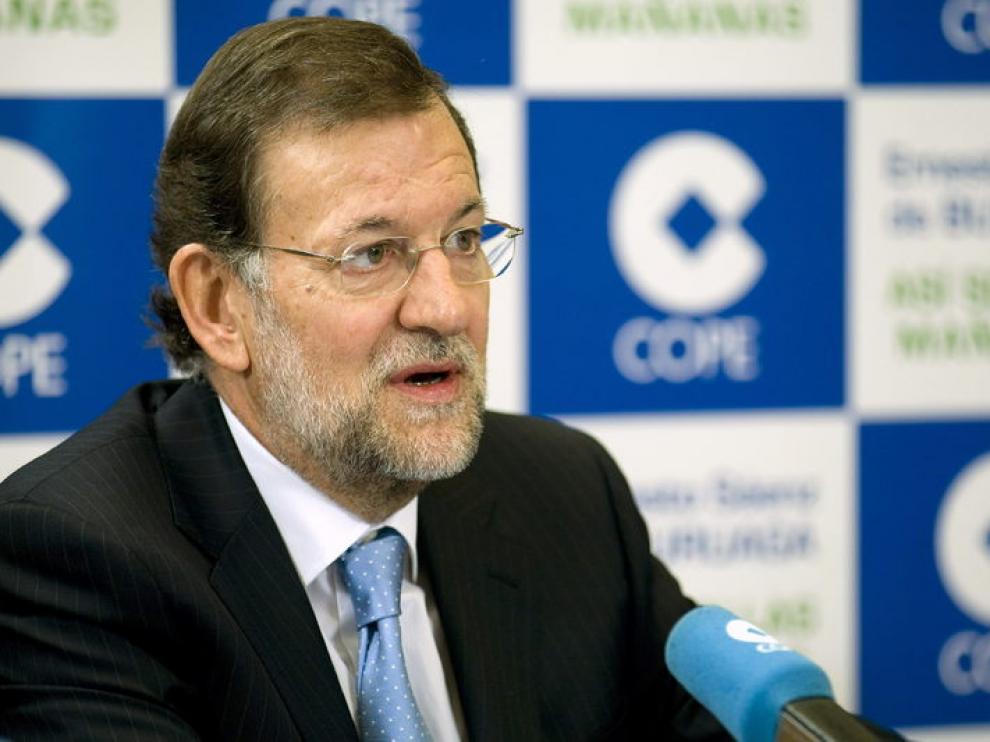 Mariano Rajoy este lunes