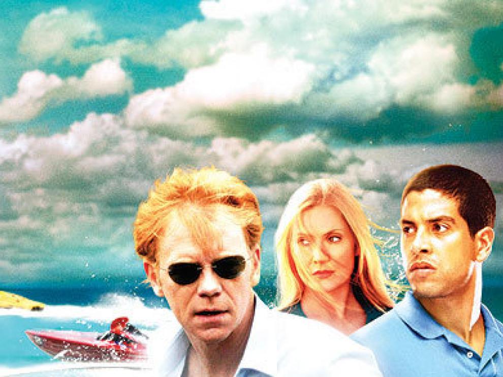 Los protagonistas de la serie 'CSI Miami'.