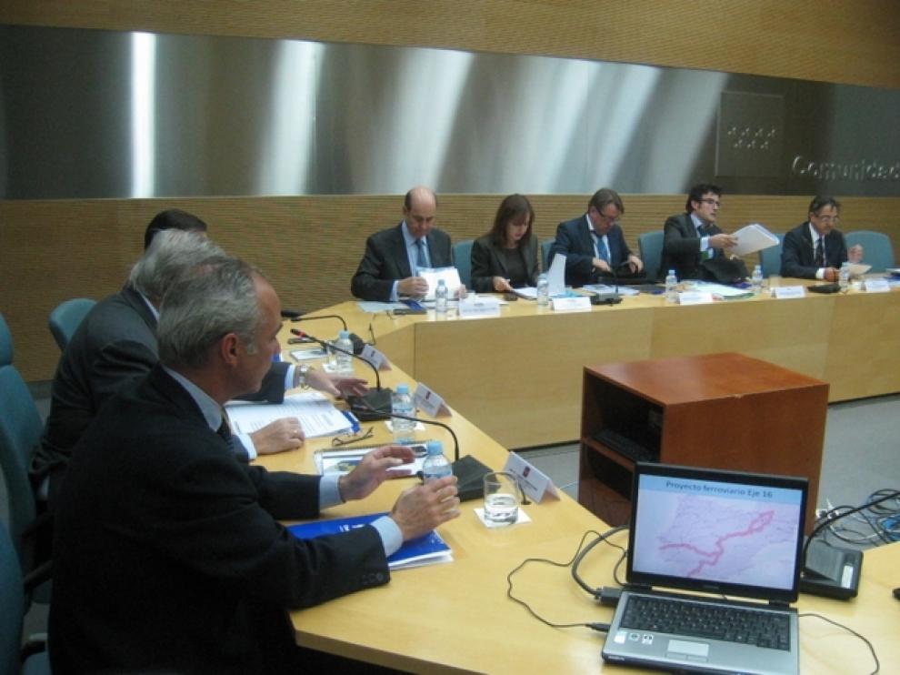 Este lunes se reunieron en Madrid los representantes de seis CC. AA. para impulsar la TCP