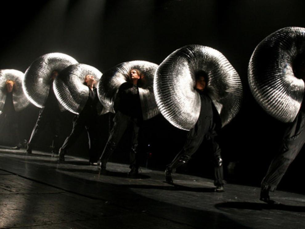 Imagen del espectáculo musical The Aluminium Show