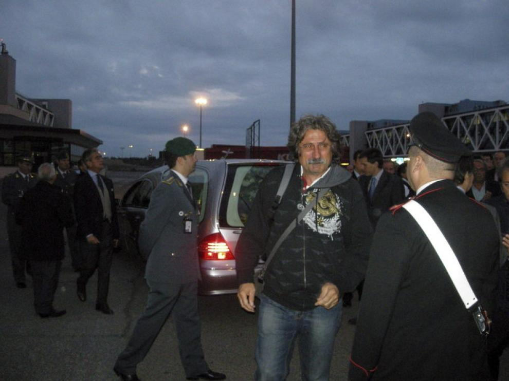 Paolo Simoncelli, el padre del piloto fallecido