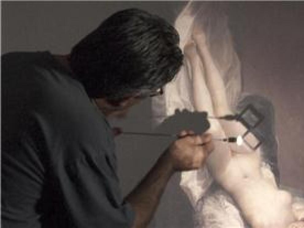 Fotograma de 'Goya. El secreto de la sombra'