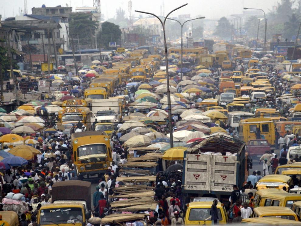 Imagen tomada en el año 2006 en Lagos (Nigeria)