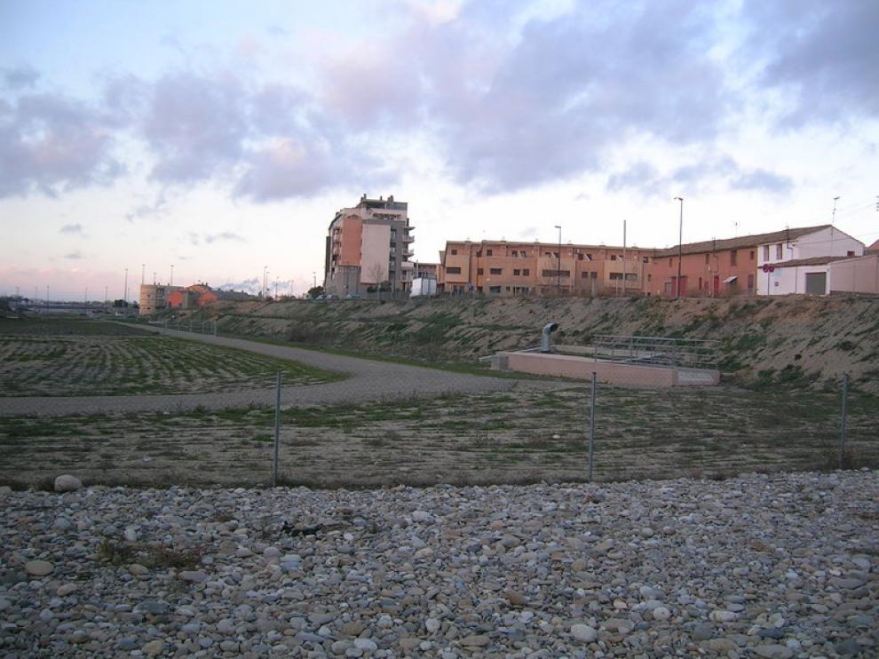 Terrenos en los que está proyectada una zona de ocio para Santa Isabel