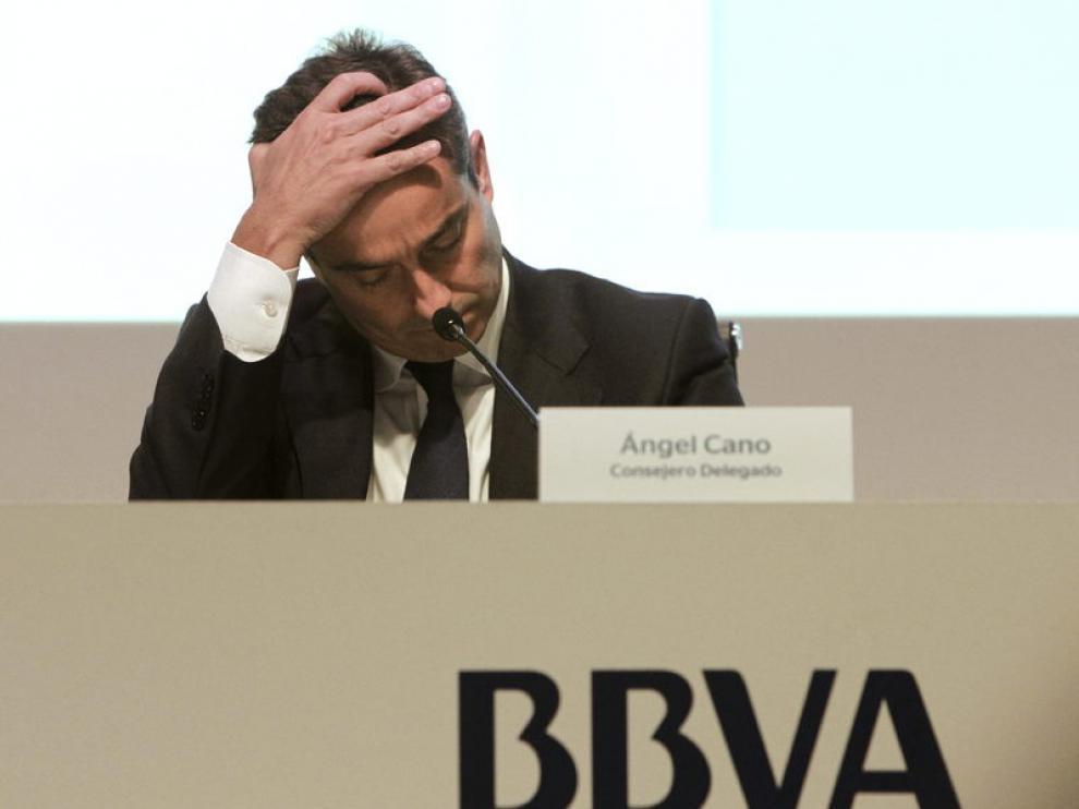 El consejero delegado del BBVA, Ángel Cano