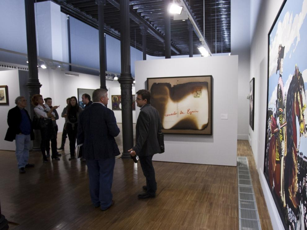 Exposición 'El gesto y la ironía' en el Paraninfo
