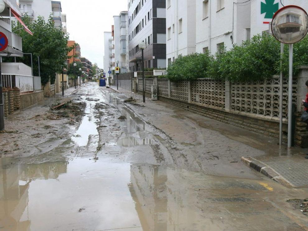 Inundaciones en Salou