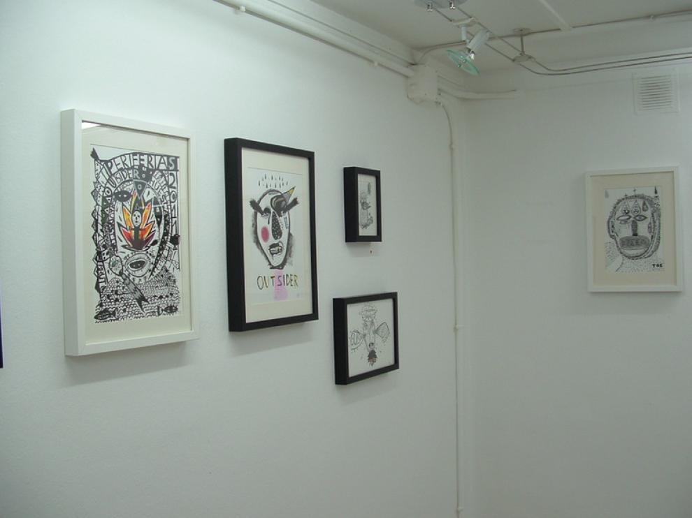 Exposición de Jorge Vicén, en Librería Anónima