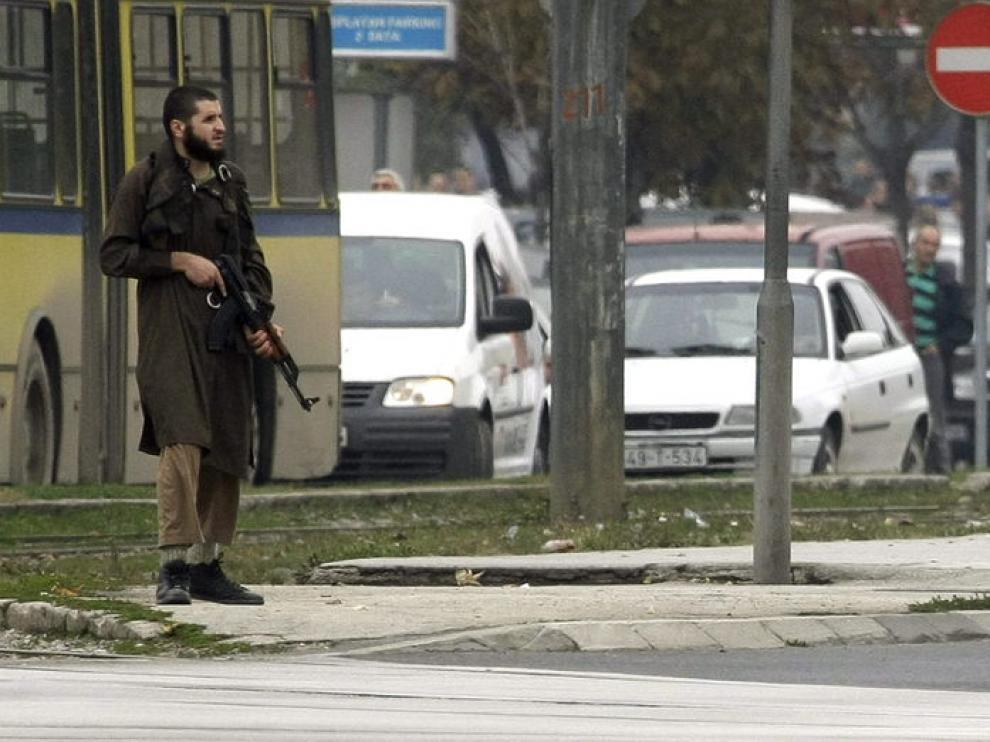 Imagen del individuo que ha disparado contra la embajada