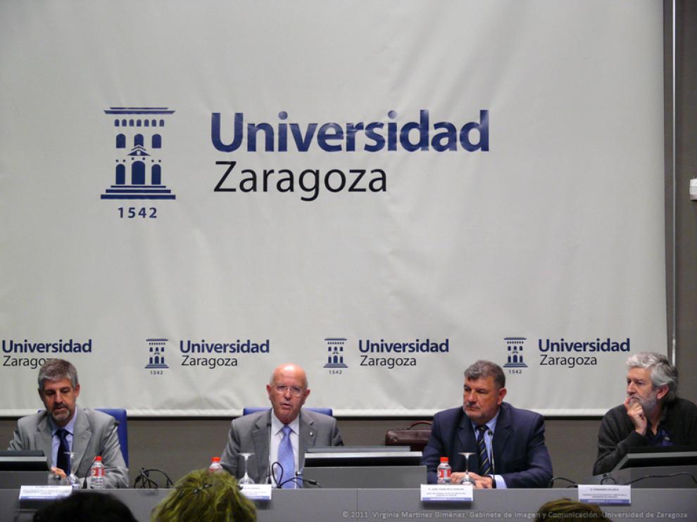 Presentación de la encuestra nutricional en la Universidad de Zaragoza este viernes