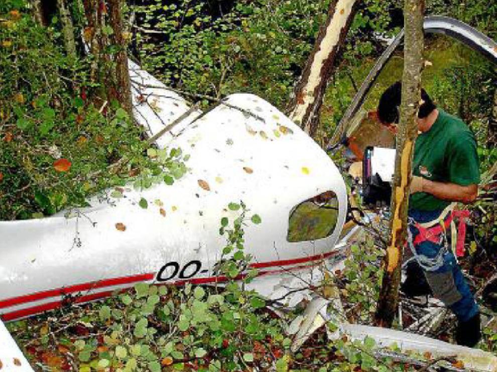 El piloto de esta avioneta murió en 2006 al estrellarse en Ordesa cuando volaba de Francia a Marruecos.